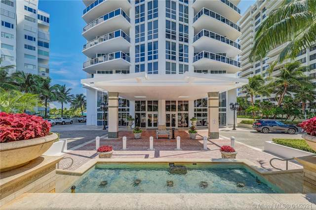 10225 Collins Ave #1503, Bal Harbour, FL 33154 (MLS #A10986640) :: Search Broward Real Estate Team