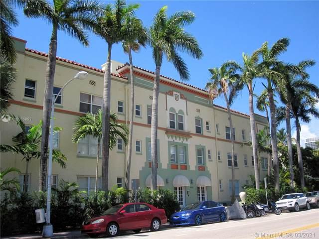 900 16th St #304, Miami Beach, FL 33139 (MLS #A10986892) :: Prestige Realty Group