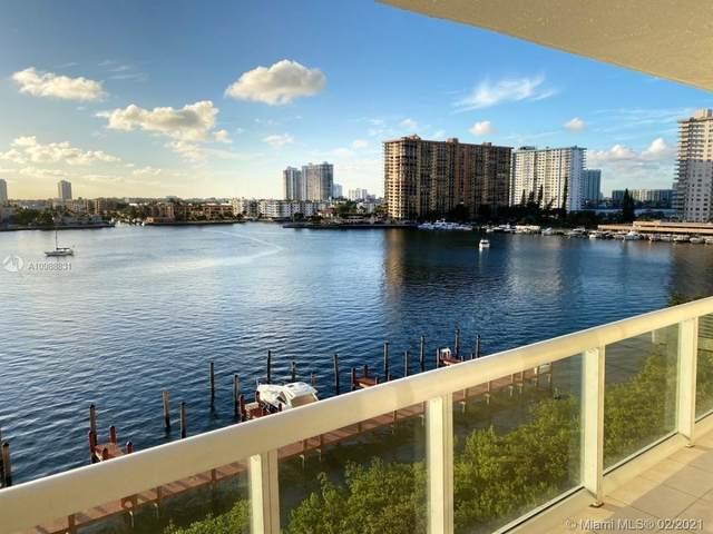 17050 N Bay Rd #705, Sunny Isles Beach, FL 33160 (MLS #A10988831) :: Green Realty Properties