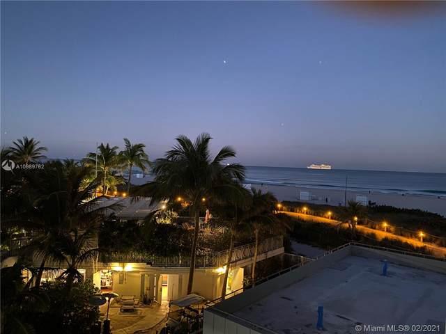 401 Ocean Dr #419, Miami Beach, FL 33139 (MLS #A10989762) :: Prestige Realty Group