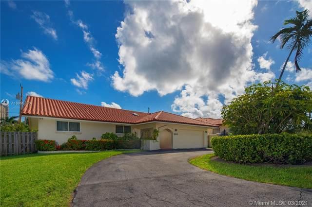 220 187th St, Sunny Isles Beach, FL 33160 (MLS #A10990890) :: Prestige Realty Group