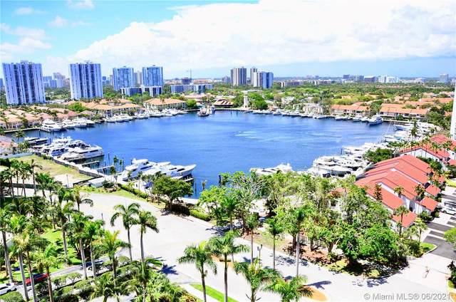 21205 Yacht Club Dr #1507, Aventura, FL 33180 (#A10992056) :: Dalton Wade