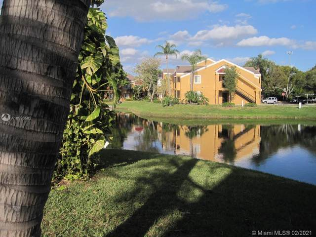 8375 SW 5th St #105, Pembroke Pines, FL 33025 (MLS #A10993582) :: The Teri Arbogast Team at Keller Williams Partners SW
