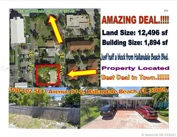 100 SE 3rd Ave, Hallandale Beach, FL 33009 (#A10995193) :: Posh Properties