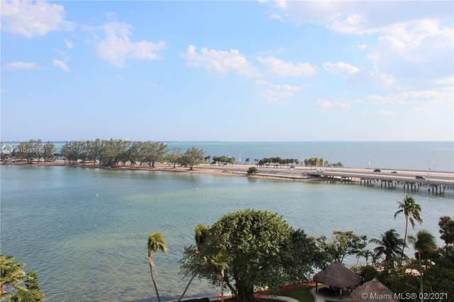 2451 Brickell Ave 8U, Miami, FL 33129 (MLS #A10996688) :: Green Realty Properties