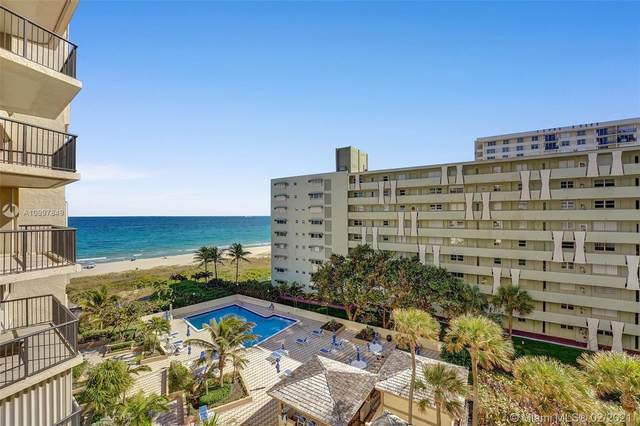 1800 S Ocean Blvd #604, Lauderdale By The Sea, FL 33062 (MLS #A10997849) :: The Howland Group