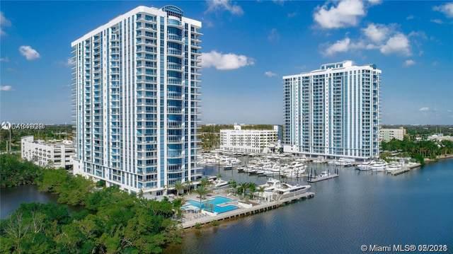 17301 Biscayne Blvd #607, North Miami Beach, FL 33160 (MLS #A10997993) :: The Rose Harris Group