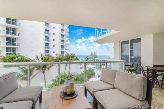 18671 Collins Ave #404, Sunny Isles Beach, FL 33160 (MLS #A10998141) :: The Howland Group