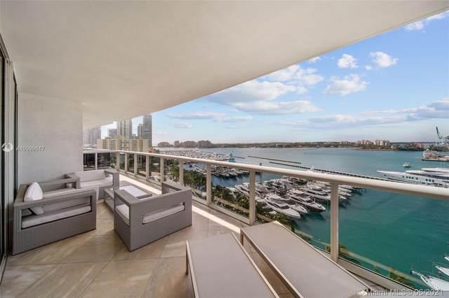 400 Alton Rd #1003, Miami Beach, FL 33139 (#A10999617) :: Posh Properties