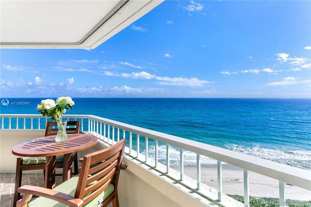 5080 N Ocean Dr 7A, Riviera Beach, FL 33404 (MLS #A11000061) :: Prestige Realty Group