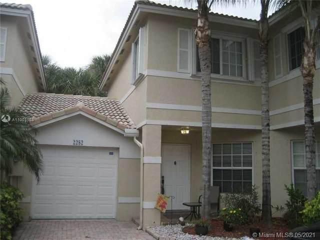 2282 NW 171st Ter #2282, Pembroke Pines, FL 33028 (MLS #A11001168) :: Green Realty Properties
