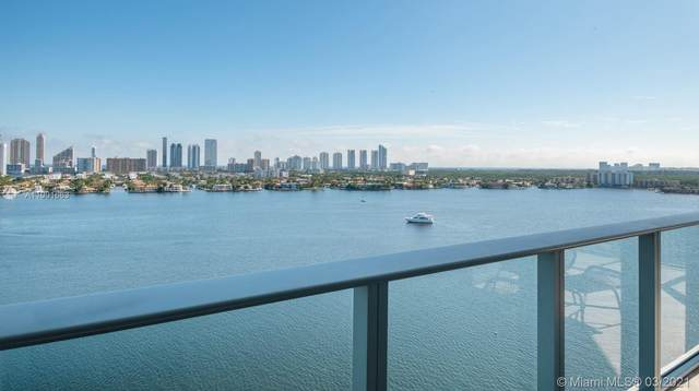 17301 Biscayne Blvd #1609, North Miami Beach, FL 33160 (MLS #A11001663) :: The Howland Group