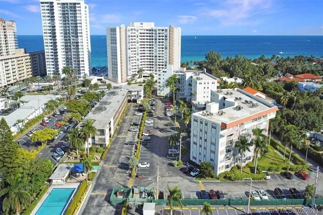 3181 S Ocean Dr #101, Hallandale Beach, FL 33009 (MLS #A11004428) :: Castelli Real Estate Services