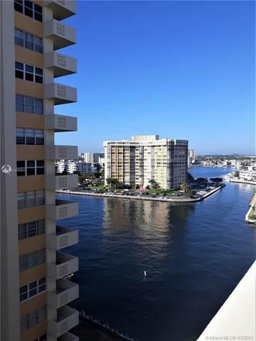 1817 S Ocean Dr #1023, Hallandale Beach, FL 33009 (MLS #A11004903) :: Castelli Real Estate Services