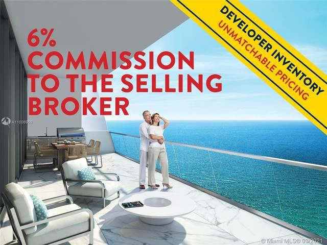18501 Collins Ave #601, Sunny Isles Beach, FL 33160 (MLS #A11006950) :: Team Citron