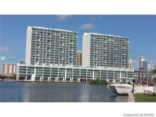 400 Sunny Isles Blvd #1503, Sunny Isles Beach, FL 33160 (MLS #A11007097) :: Green Realty Properties