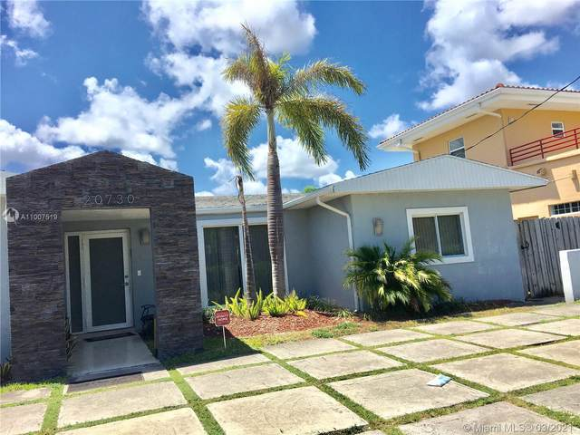 20730 NE 23 AVENUE, Miami, FL 33180 (MLS #A11007519) :: Berkshire Hathaway HomeServices EWM Realty