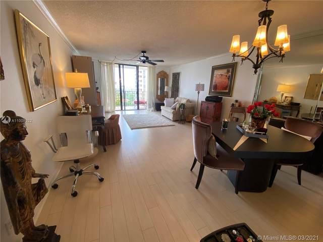 18151 NE 31st Ct #1610, Aventura, FL 33160 (MLS #A11008022) :: Green Realty Properties
