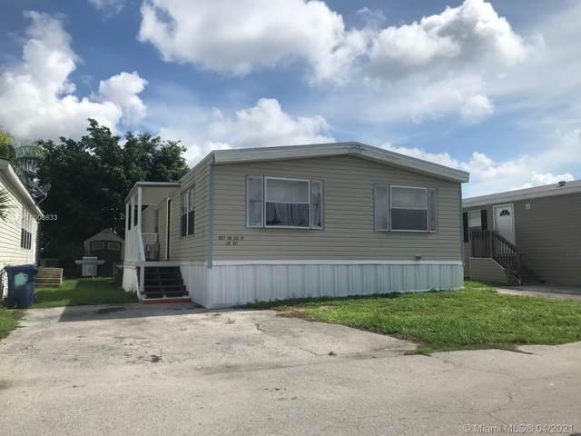 12900 SW 253 St #627, Homestead, FL 33032 (#A11008633) :: Posh Properties