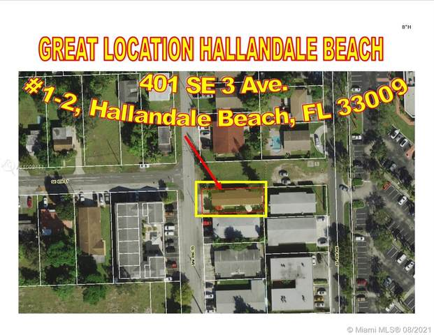 401 SE 3rd Ave, Hallandale Beach, FL 33009 (MLS #A11009411) :: Green Realty Properties