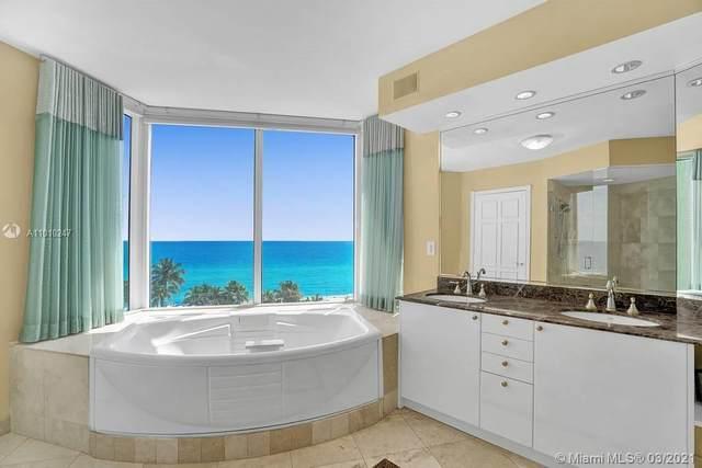 17555 Collins Ave #801, Sunny Isles Beach, FL 33160 (#A11010247) :: Posh Properties