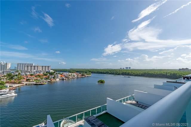 400 Sunny Isles Blvd #822, Sunny Isles Beach, FL 33160 (MLS #A11011639) :: Berkshire Hathaway HomeServices EWM Realty