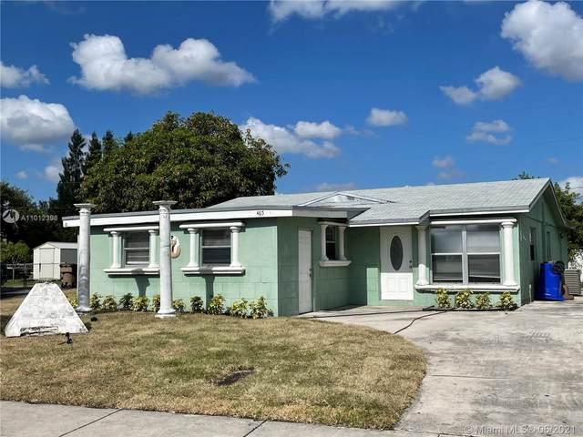 465 NW 3rd Way, Deerfield Beach, FL 33441 (MLS #A11012398) :: The Teri Arbogast Team at Keller Williams Partners SW