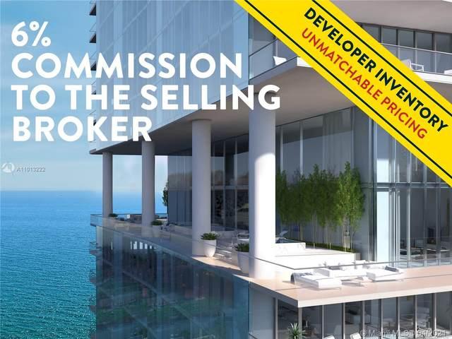 18501 Collins Ave Sky Villa 3704, Sunny Isles Beach, FL 33160 (MLS #A11013222) :: Team Citron