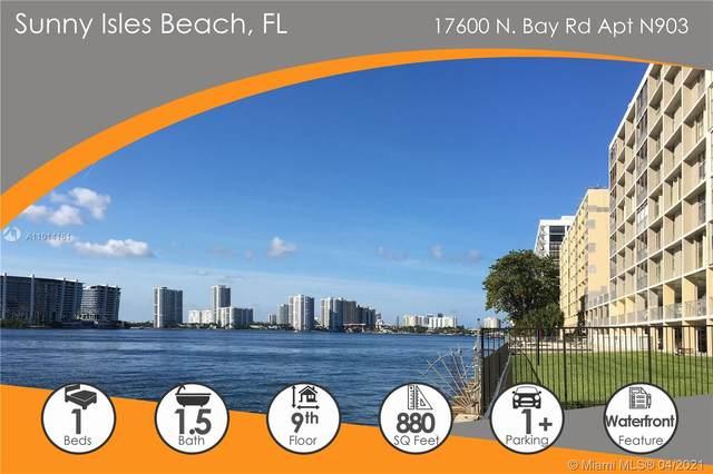 17600 N Bay Rd N903, Sunny Isles Beach, FL 33160 (MLS #A11014161) :: Podium Realty Group Inc