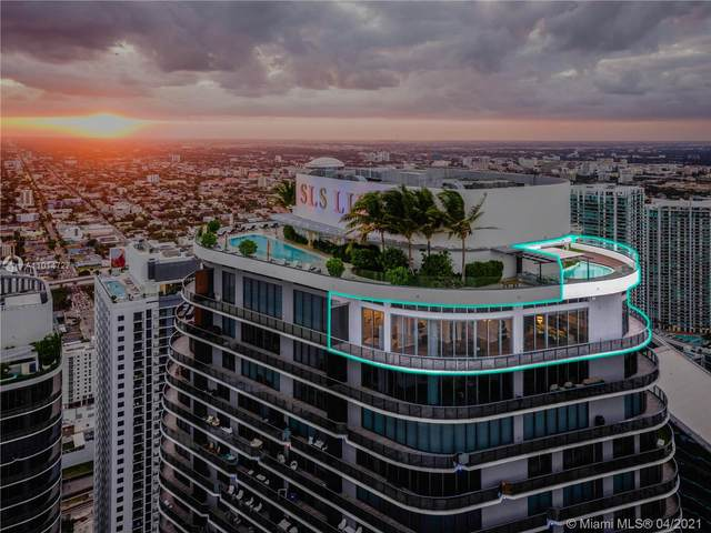 801 S Miami Ave Uph03, Miami, FL 33130 (MLS #A11014727) :: Castelli Real Estate Services