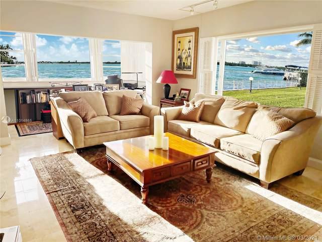 10300 W Bay Harbor Dr 1C, Bay Harbor Islands, FL 33154 (MLS #A11014865) :: Carlos + Ellen