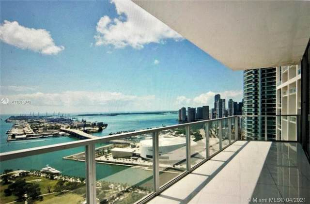 1100 Biscayne Blvd #4001, Miami, FL 33132 (MLS #A11014946) :: The Teri Arbogast Team at Keller Williams Partners SW