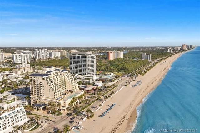 601 N Ft Lauderdale Beach Blvd #610, Fort Lauderdale, FL 33304 (MLS #A11015521) :: ONE   Sotheby's International Realty