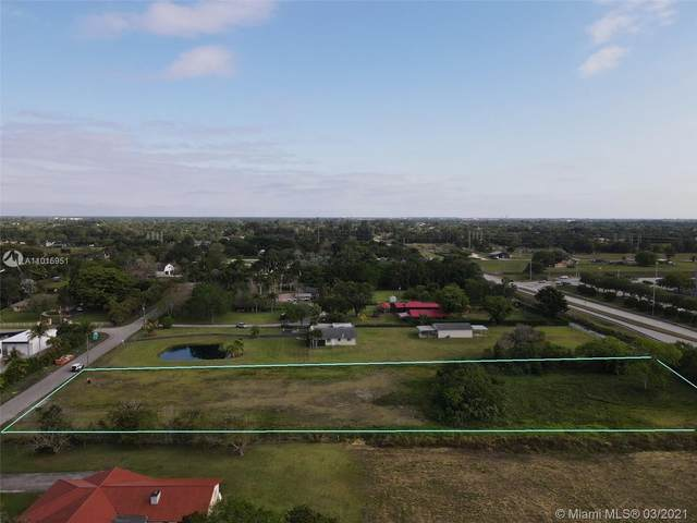 7038 SW 173 Way, Southwest Ranches, FL 33331 (MLS #A11015951) :: Patty Accorto Team