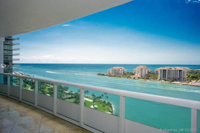 1000 S Pointe Dr #1903, Miami Beach, FL 33139 (MLS #A11016629) :: Team Citron