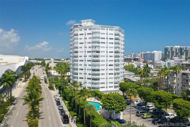 1881 Washington Ave 16H, Miami Beach, FL 33139 (MLS #A11016873) :: The Teri Arbogast Team at Keller Williams Partners SW