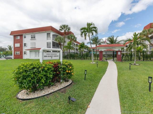 580 Egret Dr #302, Hallandale Beach, FL 33009 (MLS #A11021942) :: The Riley Smith Group