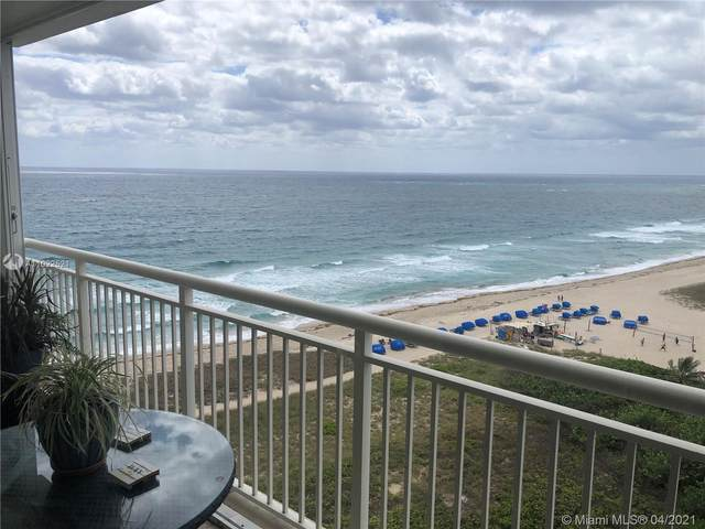 710 N Ocean Blvd #1110, Pompano Beach, FL 33062 (MLS #A11022521) :: GK Realty Group LLC
