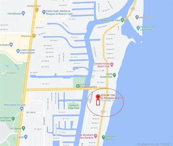 3232 NE 12th St, Pompano Beach, FL 33062 (MLS #A11024831) :: Castelli Real Estate Services