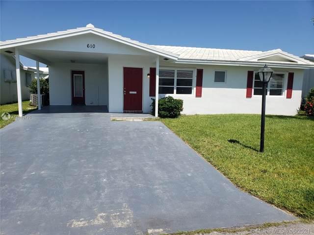 610 SW Golf Dr, Boynton Beach, FL 33426 (MLS #A11025725) :: Team Citron