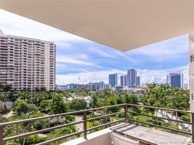 600 Three Islands Blvd #414, Hallandale Beach, FL 33009 (MLS #A11025842) :: Castelli Real Estate Services
