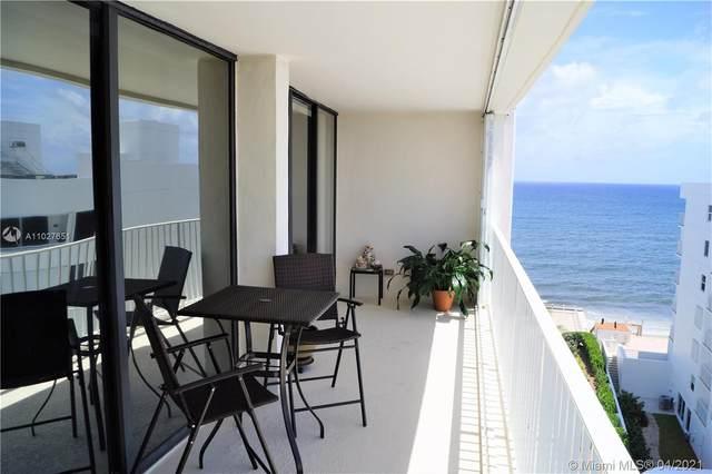 3590 S Ocean Blvd #809, South Palm Beach, FL 33480 (MLS #A11027651) :: GK Realty Group LLC