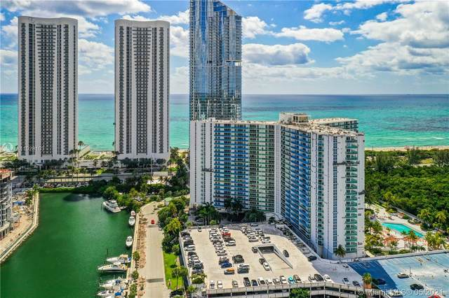 100 Bayview Dr #2114, Sunny Isles Beach, FL 33160 (MLS #A11028103) :: The Howland Group