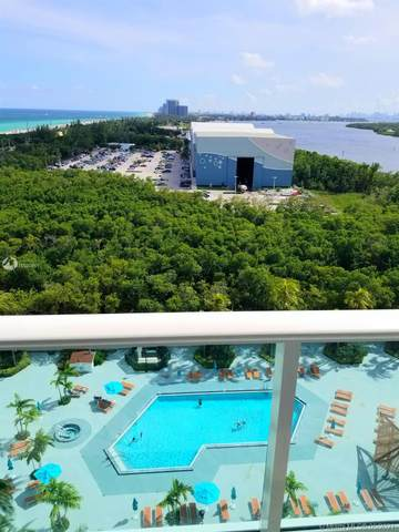 100 Bayview Dr #1424, Sunny Isles Beach, FL 33160 (MLS #A11028851) :: The Howland Group