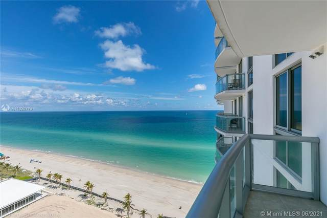 18683 Collins Ave #1105, Sunny Isles Beach, FL 33160 (MLS #A11029773) :: The Rose Harris Group
