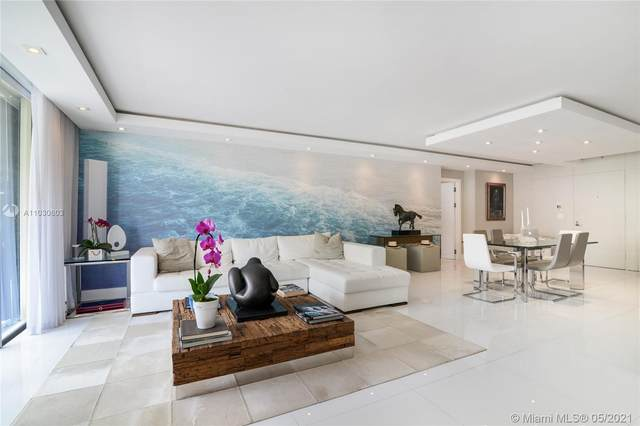 9801 Collins Ave 19J, Bal Harbour, FL 33154 (MLS #A11030603) :: The Howland Group