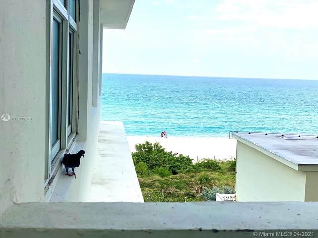 5601 Collins Ave 612A, Miami Beach, FL 33140 (#A11030646) :: Posh Properties
