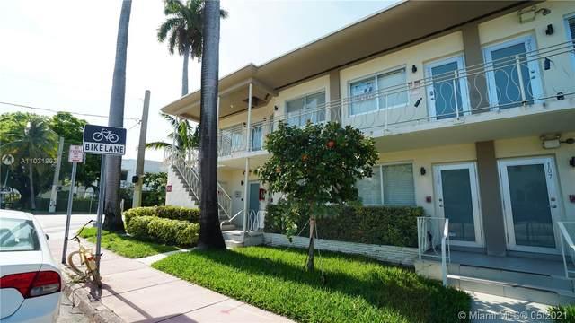 1601 Meridian Ave #206, Miami Beach, FL 33139 (MLS #A11031863) :: The Teri Arbogast Team at Keller Williams Partners SW