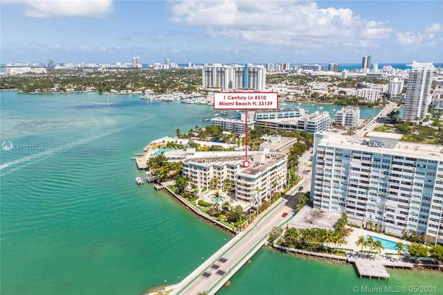1 Century Ln #510, Miami Beach, FL 33139 (#A11032726) :: Posh Properties