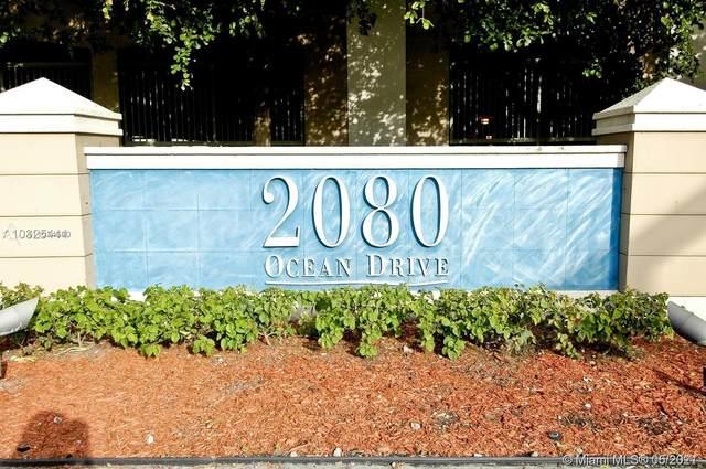 2080 S Ocean Dr #201, Hallandale Beach, FL 33009 (MLS #A11034690) :: Dalton Wade Real Estate Group